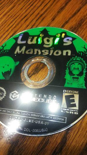 Luigi's Mansion Gamecube for Sale in Downey, CA