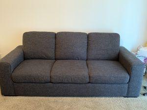 Dark Grey Couch for Sale in Visalia, CA