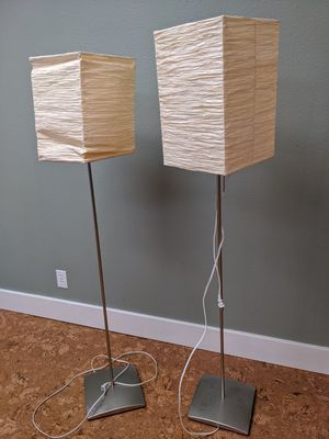 Tall floor lamps for Sale in Tacoma, WA