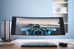 HP Z34c curved monitor 3440 X 1440 for Sale in Chicago, IL
