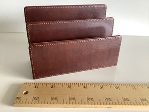 Leather letter holder for Sale in Grand Terrace, CA
