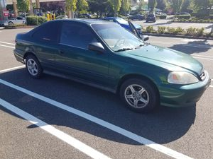 1999 Honda Civic 2 door for Sale in Everett, WA