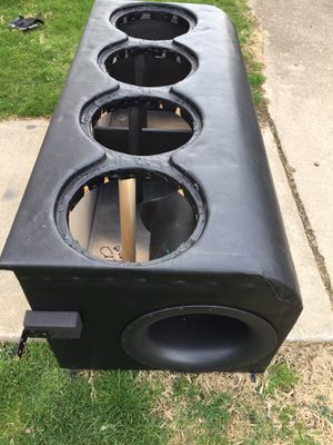 "4 12"" subwoofer box for Sale in Marengo, OH"