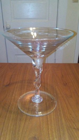 Extremely large martini glass for Sale in Austell, GA