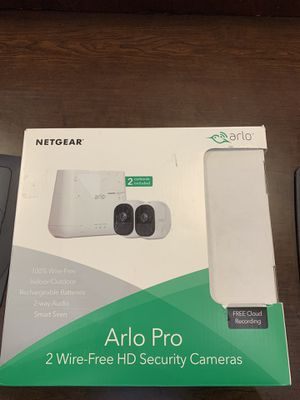 Arlo Pro 2 - Wireless Home Security Camera System with Siren for Sale in Raleigh, NC