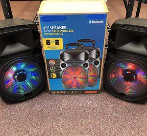 Bluetooth speaker 🔊 karaoke 🎤 for Sale in Arlington, VA