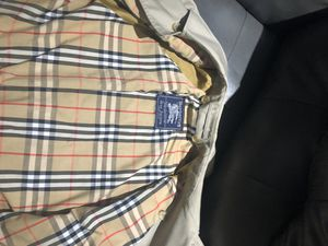 Burberry jacket for Sale in Bellingham, MA