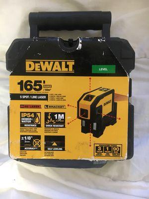 Dewalt 5 point laser for Sale in Fullerton, CA