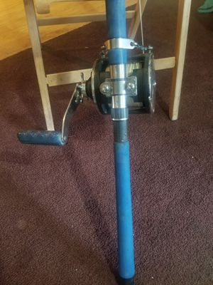 "Daiwa Sealine 900H Big Game Fishing Reel with Sabre Custom Made 50lb 6'6"" Fishing Rod USA Very Good Condition for Sale in Ontario, CA"