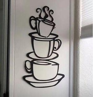 Brand New Cute Kitchen Coffee Wall Sticker for Sale in Wichita, KS