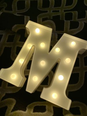 LED letter M . for Sale in New York, NY
