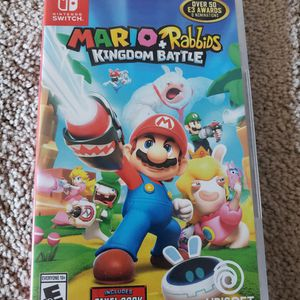 Mario + Rabbids Kingdom Battle Switch for Sale in Downey, CA