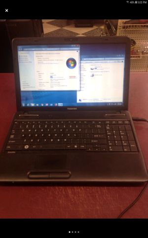 "Toshiba 15"" windows 7 laptop computer DVD/CD for Sale in Columbus, OH"