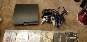 PS3, 17 GAMES & 2 REMOTES for Sale in Milford, MA