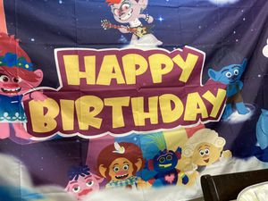 Trolls banner for Sale in Tamarac, FL