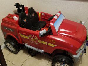 12v fire truck for Sale in Sarasota, FL