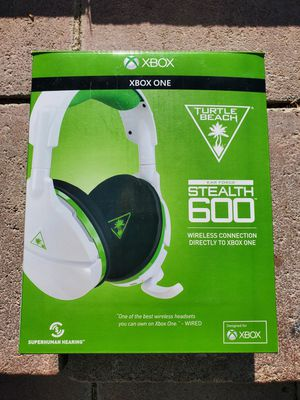 $80 XBOX ONE TURTLE BEACH STEALTH HEADSET for Sale in Las Vegas, NV