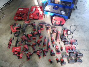 Milwaukee 18 V and 12 v lot for Sale in Tacoma, WA