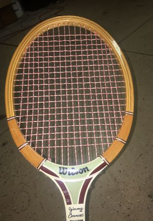 jimmy connors champ wilson racket for Sale in Claremont, CA