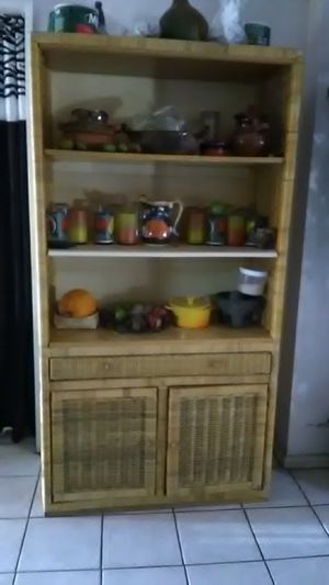 Beautiful Kitchen cabinet Dishes not included OBO for Sale in Riverside, CA