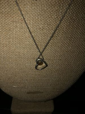 Sterling silver heart necklace for Sale in Stockton, CA
