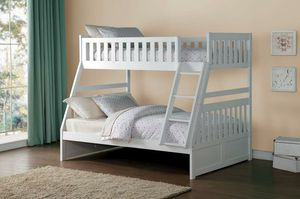 Galen White Twin/Full Bunk Bed | B2053 for Sale in Columbia, MD