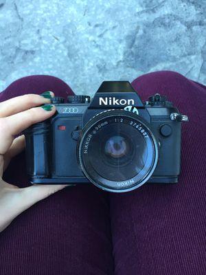 Nikon N2000 50mm for Sale in Lake Stevens, WA