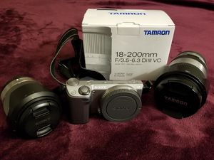 Camera and lens for Sale in Ashburn, VA