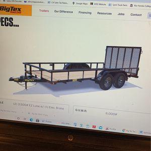Big Tex Trailer 16'x77 for Sale in Whittier, CA