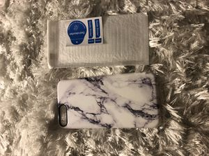 Iphone 7 plus/8 plus case and screen protector for Sale in Champaign, IL