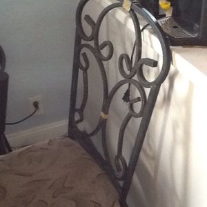 2 iron chairs with dining or kitchen table for Sale in Philadelphia, PA