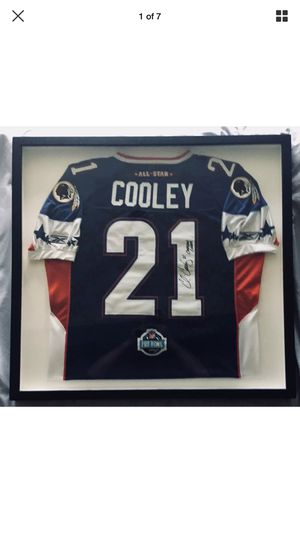 Chris Cooley signed Pro Bowl Jersey with Sean Taylor jersey # from the year he passed away for Sale in Leesburg, VA