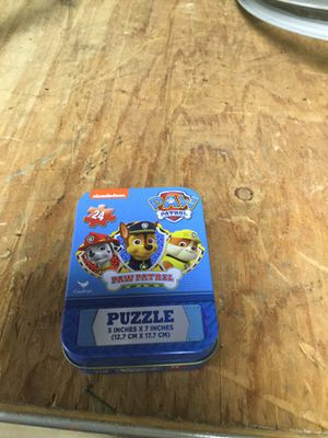 Paw Patrol Puzzle for Sale in Marlboro Township, NJ