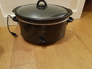 Crock-Pot 7-Quart Manual Slow Cooker for Sale in Federal Way, WA