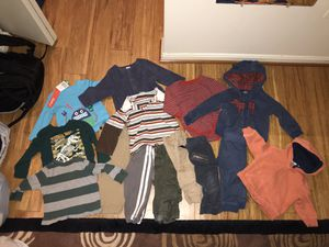 Baby boy clothes lot 18 months for Sale in Fairfax, VA