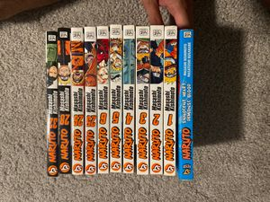 Naruto Manga and Anime Dvds for Sale in Lockhart, FL