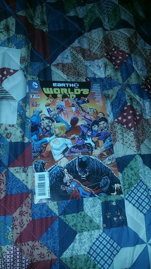 Earth 2 world's end #7 comic book for Sale in Norfolk, VA