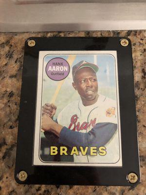 Hank Aaron topps baseball card for Sale in Phoenix, AZ