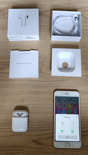 AirPods gen 2 with wireless charging case for Sale in MD, US