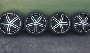 Brand new tires and rims 22 for Sale in Miami, FL