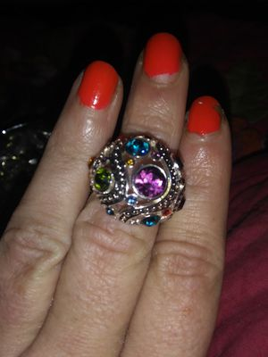 Selling as set ring and baclist set birthstones set jewelry for Sale in Murfreesboro, TN