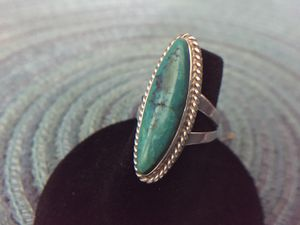 Tonopah Turquoise & Silver Ring for Sale in Baytown, TX