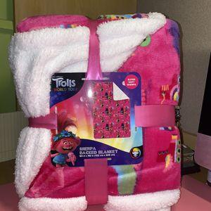 Trolls 2 World Tour Soft Blanket TWIN/FULL *NEW* for Sale in Glendale, AZ