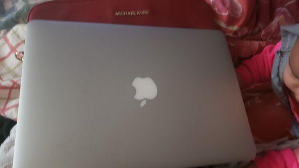 Macbookair laptop barely used .