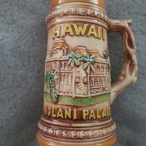Brown Hawaii Iolani Palace Stein for Sale in Whittier, CA