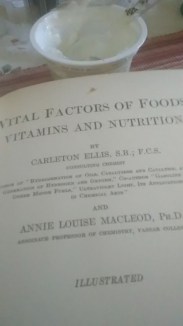 Vital factors of food