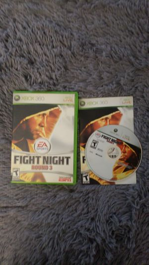 EA Fight Night Round 3; Xbox 360 Game for Sale in Sterling, VA