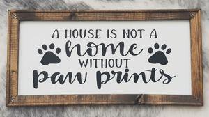 Pet dog cat framed wall art decor for Sale in Fort Pierce, FL