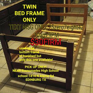 Twin Bed FRAME for Sale in Edinburg, TX