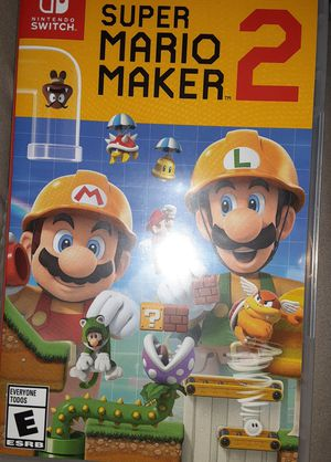 Mario maker 2 Nintendo switch for Sale in Euless, TX